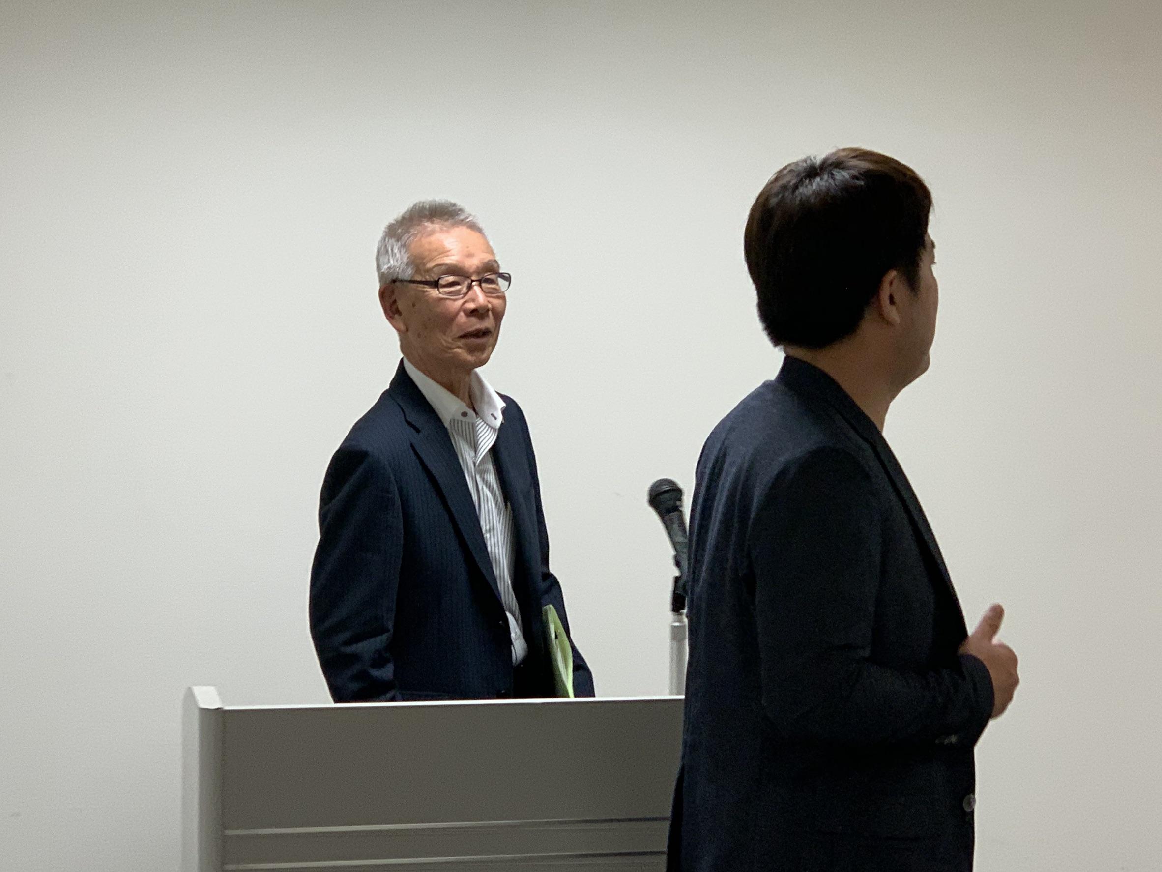 令和元年8月21日(水) 「熊本経済の現状と今後」㈱地域情報センター 代表取締役会長 松岡泰輔氏;